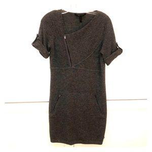 BCBG Gray Cashmere Dress